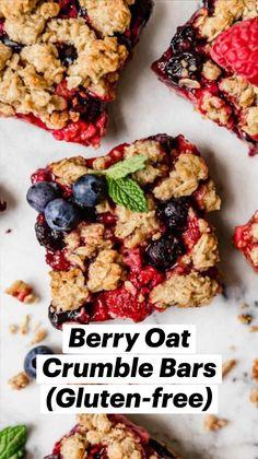 Healthy Dessert Recipes, Healthy Treats, Healthy Baking, Whole Food Recipes, Breakfast Recipes, Healthy Foods, Gluten Free Baking, Gluten Free Desserts, Dairy Free Recipes