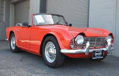 triumph tr4 I had this car! Red too