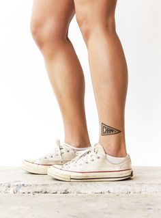 Champ by @hellopeagreen, Tattly temporary tattoos.