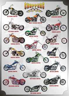 Choppers Motorcycles Jigsaw Puzzle