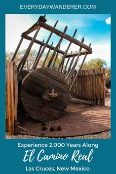 Experience 2,000 years along the Royal Highway (El Camino Real) -- the trade route between Mexico City, Mexico and Santa Fe, NM -- in about ten minutes via an art exhibit outside the Branigan Library in Las Cruces, NM | Public art | Statues | Visit New Mexico