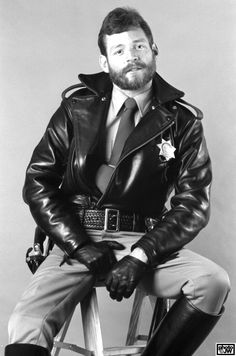 Rob Marvin series. Pic ©Jim Wigler. #LeatherCop