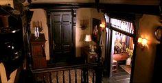 front door of Practical Magic house