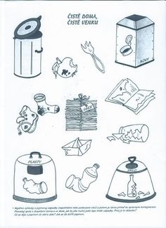 Čistě doma, čistě venku Planets Preschool, Preschool Worksheets, Preschool Crafts, Nasa, Earth Day Activities, Green Day, Recycled Crafts, Educational Activities, Special Education
