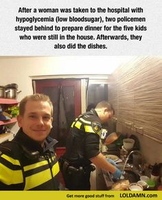 Two police officers help my faith in humanity restored.