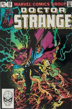 Doctor Stange-Master of the Mystic Arts. Marvel Comics Doctor Strange Oct 1982 by AlienDragon on Etsy Marvel Comics Art, Marvel Comic Books, Marvel Characters, Comic Books Art, Doctor Strange, Comic Book Artists, Comic Artist, The Great Doctor, Strange Tales