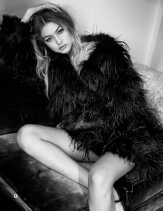 Gigi Hadid by Patrick Demarchelier for Vogue UK January 2016