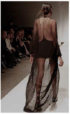 #DIY shredded dress