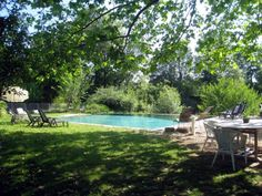 Lovely shady pool at Aubriete - The Water Mill - France - Family Friendly Holidays