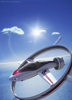 PAV by Nick Kaloterakis [Futuristic Vehicles: http://futuristicnews.com/category/future-transportation/] véhicule / olokosmon / volant / cercle