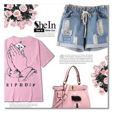 """""""Shein -shorts-"""" by dolly-valkyrie ❤ liked on Polyvore featuring Sheinside and shein"""