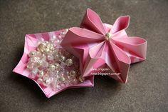 OrigamiTime.: Tasia origami box