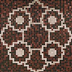 #Bisazza #Decori 2x2 cm Linear De Rosas Marron | #Porcelain stoneware | on #bathroom39.com at 1355 Euro/box | #mosaic #bathroom #kitchen