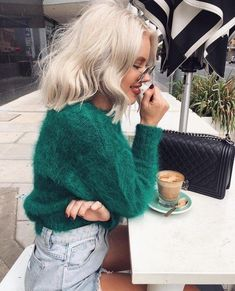 Winter Fashion Outfits, Winter Outfits, Summer Outfits, Green Outfits For Women, Cute Casual Outfits, Chic Outfits, Laura Jade Stone, Alternative Rock, Mode Ootd