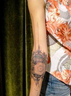 Confira as Tatuagens no Antebraço, as Tatuagens no Antebraço são bem estilosas e tem vários desenhos que podem ser feitos.