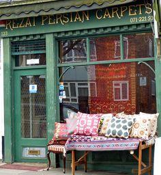 Rezai Persian Carpets, 123 Portobello Road, London W11 2DY, Homegirl London