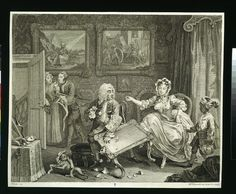 A Harlot's Progress,  William Hogarth