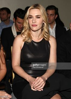 Kate Winslet attends the St. John fall 2012 fashion show during Mercedes-Benz Fashion Week at Ukrainian Institute Of America on February 10, 2012 in New York City.