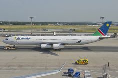 Air Namibia Airbus A340-311; V5-NMF@FRA;30.06.2012/658dx:My national carrier