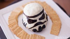 This Stormtrooper cheese ball is perfect for Star Wars Day — May the 4th be with you!