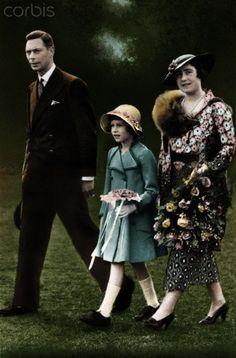 Princess Elizabeth and the Duchess of York