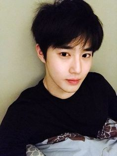 """[TRANS] 161120 EXO-L Website Update from SuHo: """"Aeri-babies, did my sincerity convey to you well today? In future, let's be together for the rest of our life. I think I can sleep well today."""