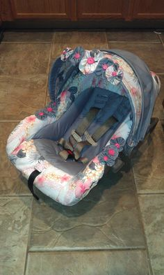 Old Car Seat Form My Baby Boy That I Made Cover For New