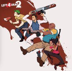 Left 4 Dead 2 Art
