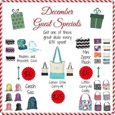 December Specials!!