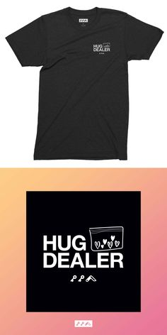 the HUG DEALER funny tshirt has an ultra comfortable soft-to-touch feel leaving the tee with a vintage graphic look. Charcoal Black, Black White, Short Sleeve Tee, Funny Tshirts, Hug, Royal Blue, Hearts, Tees, T Shirt