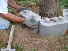Starting a planter around a existing tree