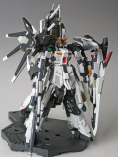 GUNDAM GUY: 1/144 Hi Nu Gundam Union - Customized Build