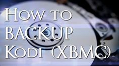 See how to backup Kodi (XBMC) so that you don't lose anything important or any of your Add-ons and Add-on data, the next time you upgrade your software.