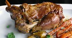 καραμελωμένο μπούτι αρνιού σε δίλημμα - Pandespani.com