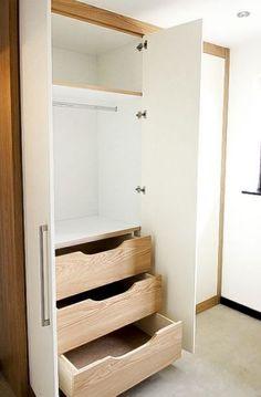 Best Bedroom Closet Design Built In Wardrobe Drawers Ideas Built In Cupboards Bedroom, Bedroom Built In Wardrobe, Wardrobe Drawers, Bedroom Cupboard Designs, Bedroom Closet Design, Wardrobe Cabinets, Wardrobe Storage, Wardrobe Closet, Closet Designs
