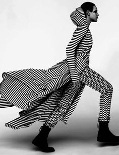 Natalia Vodianova; French Vogue, March 2012
