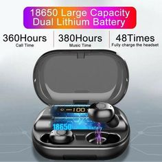 OFF Holiday Promotion-Touch Control Wireless Earbuds With Power Bo – Stylish New Deals Wireless Headphones, Bluetooth, Baby Shower Invitaciones, Emergency Power, Display Technologies, Skin Tag, Control, Things To Buy, Latest Fashion
