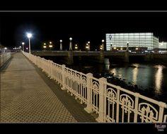 *** Urumea Bridge, San Sebastian, Pais Vasco, Spain #Euskadi #basquecountry #gipuzkoa
