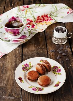 La cocina de Frabisa: Macarons de chocolate rellenos de NUTELLA. Receta