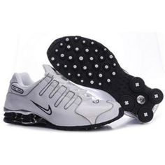 new style 8097b 29c6c 325201 008 Nike Shox NZ White Black J04021 Cheap Nike, Nike Shoes Cheap,  Nike