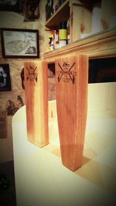 beer tap Beer Taps, Woodworking, Home Decor, Woodworking Crafts, Joinery, Interior Design, Carpentry, Home Interior Design, Woodwork