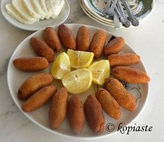 Koupes (a street food from Cyprus) - Elena Pelengaris - Koupes (a street food from Cyprus) koupes with minced meat image - Camping Dishes, Camping Meals, Turkish Recipes, Greek Recipes, Cyprus Food, Minced Meat Recipe, Greek Dishes, Side Dishes, Food Gallery
