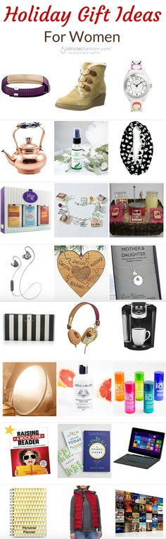 Christmas Gift Ideas for Women - Holiday gift ideas for all the women on your Christmas shopping list...