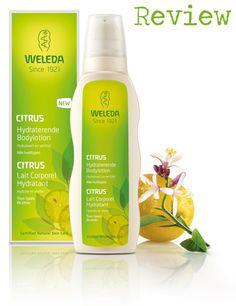 Review: Citrus Hydraterende Bodylotion van Weleda. Klik op de afbeelding om het blogartikel te lezen.