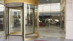 New Revolving Door at the Sunset.