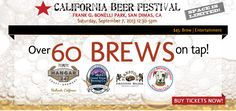 California Beer Festival in San Dimas is Saturday, September 7th with plenty of fun and food!