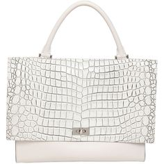 d5bb03d83a8a GIVENCHY Medium Shark Croc Embossed Leather Bag ( 2