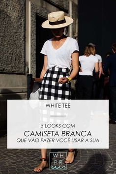 Whisper by Sara: WHITE TEE | 5 WAYS TO WEAR WHITE TEE @whisperbysara || photo via The Sartorialist