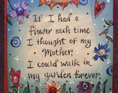 Sympathy Garden Stone Memorial Stone with Saying Hand-painted garden stones make unique gifts for an Painted Pavers, Painted Bricks, Backyard Ideas For Small Yards, Miss You Mom, Memorial Stones, Quilt Labels, Stone Pictures, Garden Quotes, Memories Quotes