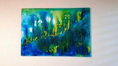 Abstract Canvas, Abstract Paintings, Original Paintings, Impressionist Art, Contemporary Landscape, Living Room Art, Mixed Media Canvas, Large Wall Art, Cotton Canvas